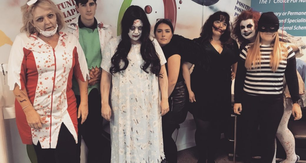 Giving you #SquadGhouls at Medsol this Halloween